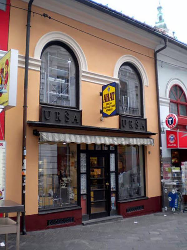 Čopova 10, Ljubljana pri Tromostovju