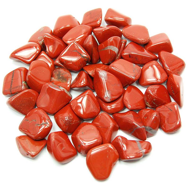 Rdeči jaspis - vodno poliran