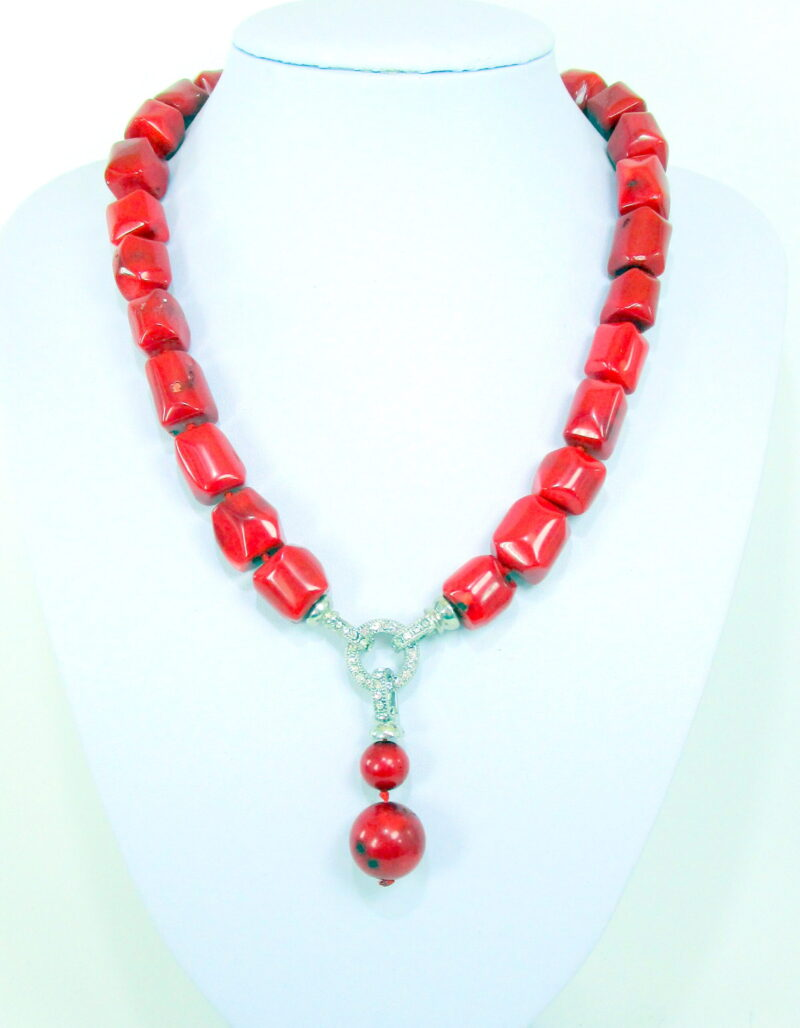 Ogrlica iz bambusove korale OGKOR2