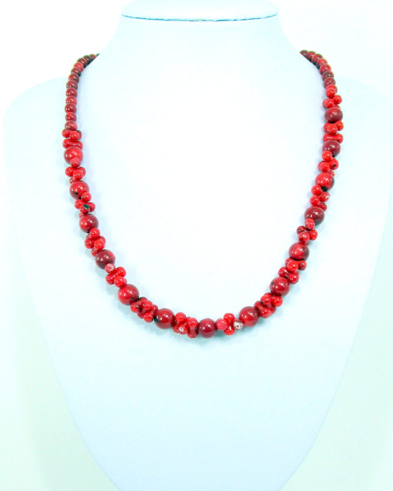 Ogrlica iz bambusove korale - OGKOR3