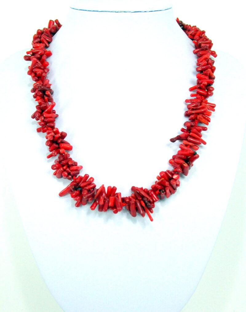 Ogrlica iz bambusove korale - OGKOR4
