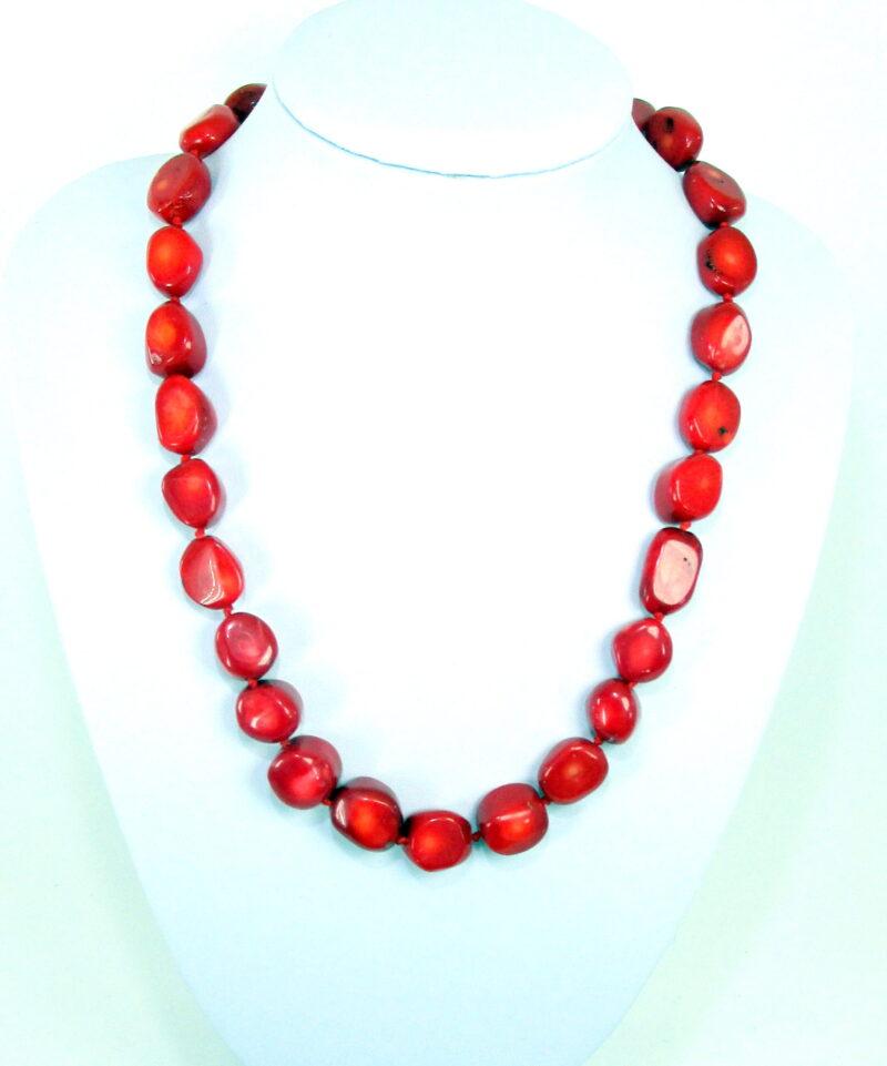 Ogrlica iz bambusove korale-OGKOR6