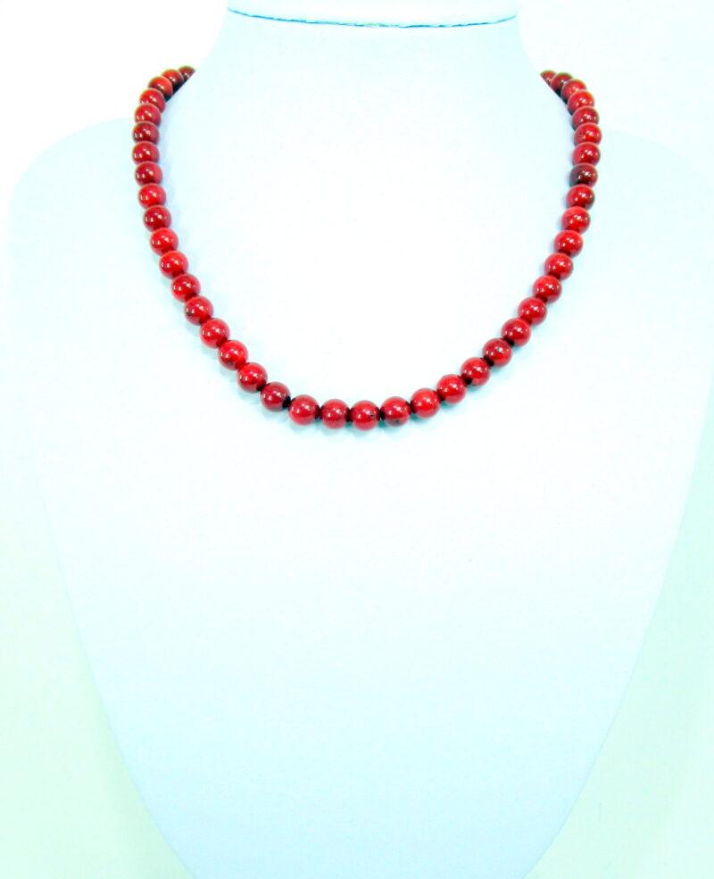 Ogrlica iz bambusove korale - OGKOR7