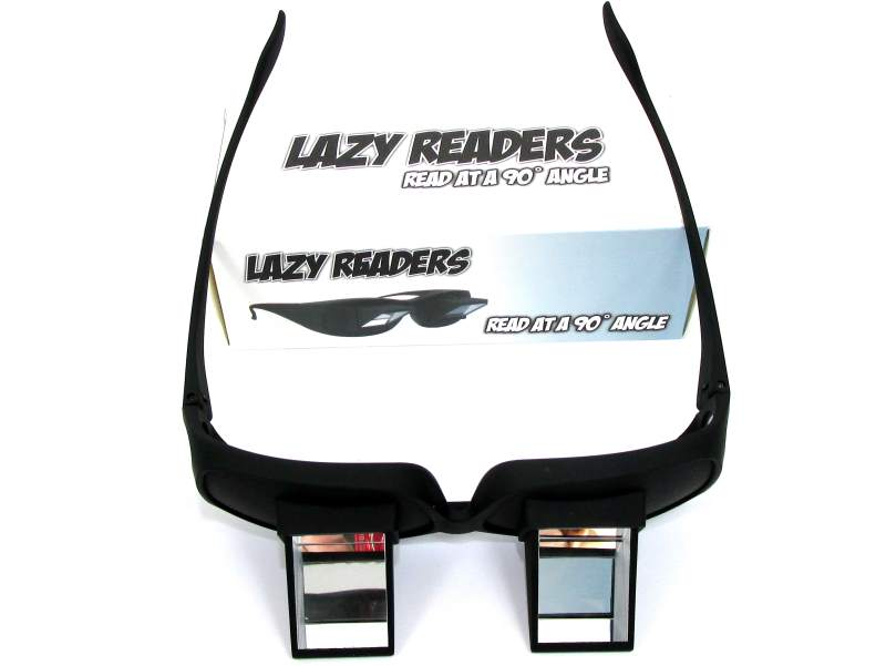 Očala za ležeče branje in gledanje televizije
