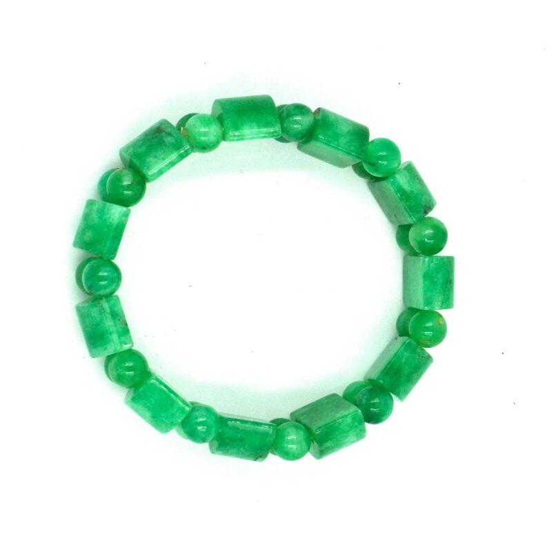 Smaragdni žad - zapestnica