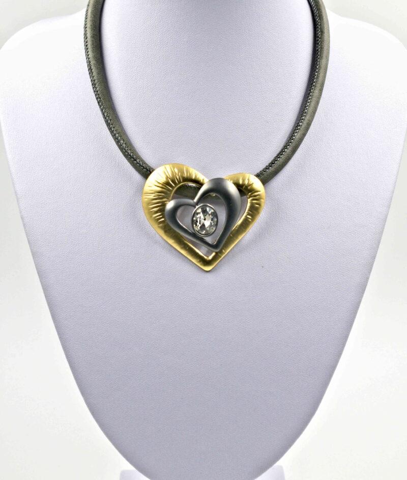 Form nova - srce zlato