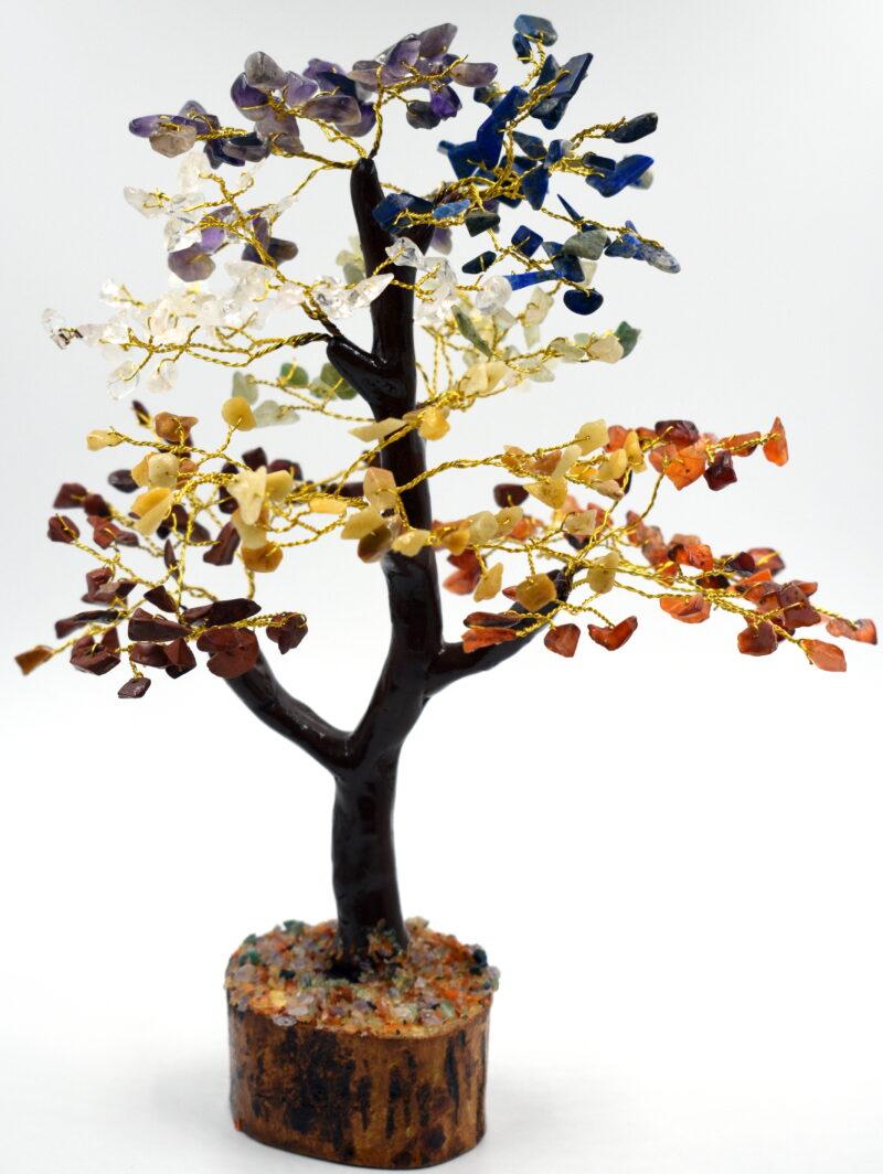 Drevo življenja s 500 čakra kristali - 30 cm
