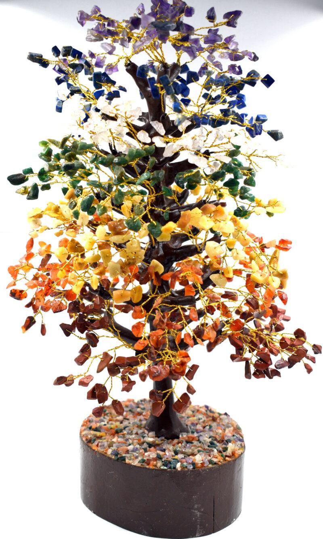 Drevo življenja  s 1000 čakra kristali - 40 cm